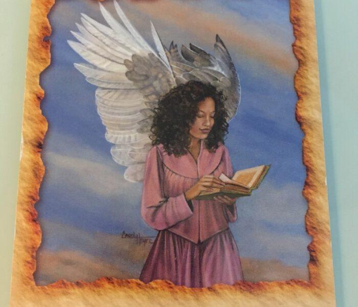 Änglaterapi budskap för helgen handlar om Böcker