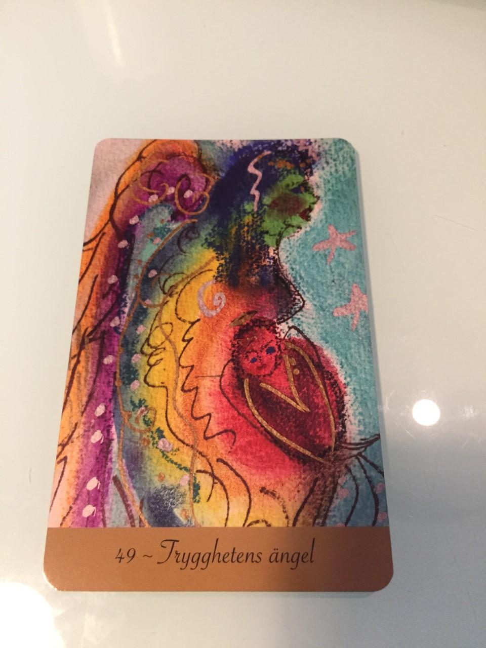 Veckans budskap – Trygghetens ängel